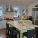 Nội thất Tủ Bếp   Tủ bếp gỗ tự nhiên – TVN416