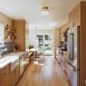 Tủ bếp gỗ MDF Laminate – TVB299