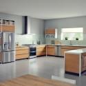 Tủ bếp MDF Laminate   TVB534