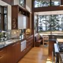 Tủ bếp gỗ công nghiệp – TVN494