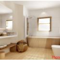 Nguyên tắc bài trí khoa học cho phòng tắm   nhà vệ sinh