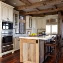 Nội thất Tủ Bếp   Tủ bếp gỗ tự nhiên – TVN466