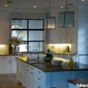 Nội thất Tủ Bếp   Tủ bếp gỗ tự nhiên – TVN381