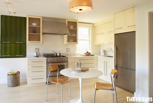 09d99b15b7ep 142.jpg Tủ bếp gỗ Laminate hình chữ L màu trắng kem TVT0751