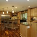 Tủ bếp gỗ tự nhiên – TVN857