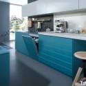 Tủ bếp gỗ công nghiệp – TVN853