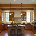 Tủ bếp gỗ tự nhiên – TVN1105