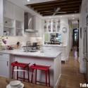 Nội thất Tủ Bếp   Tủ bếp gỗ tự nhiên – TVN447