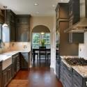 Nội thất Tủ Bếp   Tủ bếp gỗ tự nhiên – TVN439