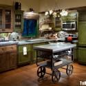 Tủ bếp gỗ tự nhiên – TVN977