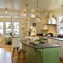 Tủ bếp gỗ tự nhiên – TVN587