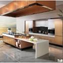 Tủ bếp gỗ công nghiệp – TVN721