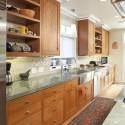 Tủ bếp gỗ tự nhiên Xoan Đào – TVB302