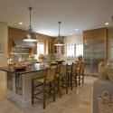 Nội thất Tủ Bếp   Tủ bếp gỗ tự nhiên – TVN463