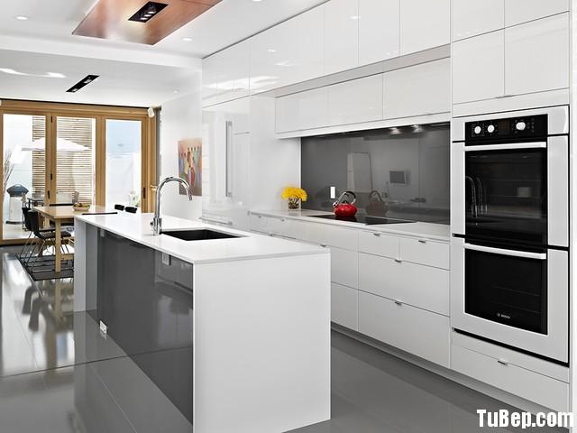23de21accdep 153.jpg Tủ bếp gỗ Acrylic chữ I màu trắng có đảo TVT0665
