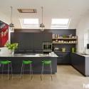 Tủ bếp gỗ công nghiệp – TVN684