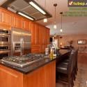 Tủ bếp gỗ tự nhiên – TVN948
