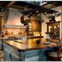 Tủ bếp gỗ tự nhiên – TVN1201