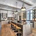 Tủ bếp gỗ tự nhiên  công nghiệp – TVN578