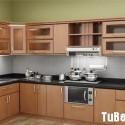Tủ bếp gỗ MDF Laminate– TVB285