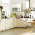 Tủ bếp gỗ công nghiệp – TVN1376