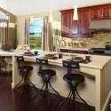 Tủ bếp gỗ tự nhiên – TVN1090