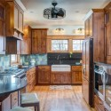 Tủ bếp gỗ Xoan Đào – TVB290