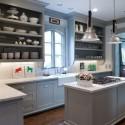 Nội thất Tủ Bếp   Tủ bếp gỗ tự nhiên – TVN435