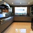 Tủ bếp gỗ tự nhiên  công nghiệp – TVN658
