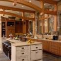 Tủ bếp gỗ tự nhiên – TVN564