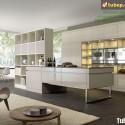 Tủ bếp gỗ công nghiệp – TVN992