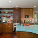 Tủ bếp gỗ công nghiệp – TVN894