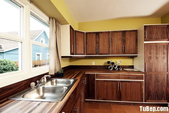1f345e672fep 1241.jpg1 Tủ bếp gỗ Melamin màu vân gỗ hình chữ L TVT0750