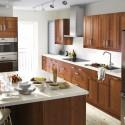 Tủ bếp gỗ Sồi Mỹ – TVB501