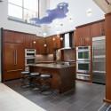 Tủ bếp gỗ công nghiệp – TVN1061