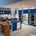 Tủ bếp gỗ công nghiệp – TVN653