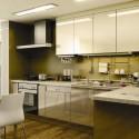 Tủ bếp gỗ MDF Acrylic – TVB348