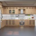Tủ bếp gỗ tự nhiên – TVN1117