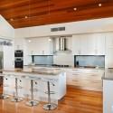Tủ bếp gỗ công nghiệp – TVN773