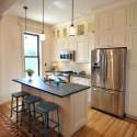 Nội thất Tủ Bếp   Tủ bếp gỗ tự nhiên – TVN400