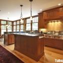 Tủ bếp gỗ tự nhiên – TVN1107