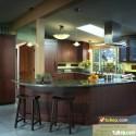 Tủ bếp gỗ tự nhiên – TVN1003