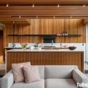 Tủ bếp gỗ công nghiệp – TVN1206
