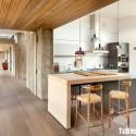 Tủ bếp gỗ công nghiệp – TVN1181