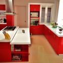 Tủ bếp gỗ công nghiệp – TVN781