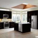 Nội thất Tủ Bếp   Tủ bếp gỗ công nghiệp– TVN418