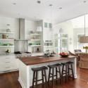 Nội thất Tủ Bếp   Tủ bếp gỗ tự nhiên – TVN362