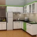 Tủ bếp gỗ MDF Acrylic – TVB491