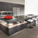 Tủ bếp gỗ công nghiệp – TVN939