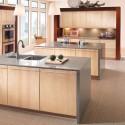 Tủ bếp gỗ Laminate   TVB834